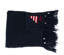 Intarsien-Schal mit Flagge