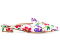 'Flower Heel' Mules