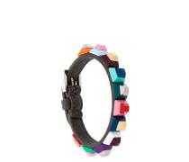 Armband mit farbigen Nieten