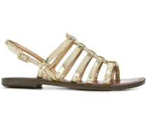 strappy singback sandals