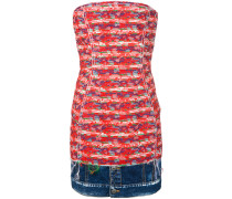 Minikleid mit Jeanssaum