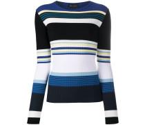 striped colour block jumper