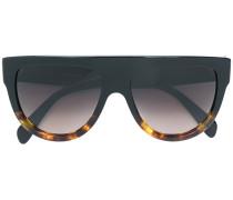 Pilotenbrille mit geradem Steg