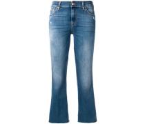 'Cropped Slim Illusion Figaro' Jeans