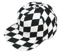 Baseballkappe mit Schachbrett-Muster