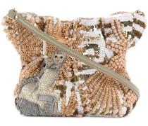 beaded shoulder bag