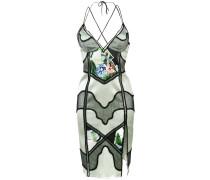 panelled slip dress