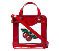 'Cherries Rainy Day' Handtasche