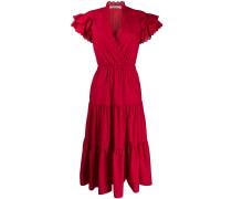 A-Linien-Kleid mit elastischer Taille