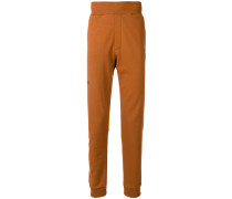 elasticated hem track pants