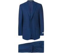 Anzug mit Logo-Patch