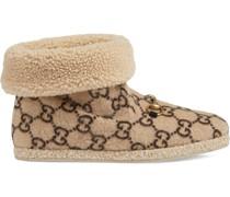 Stiefel mit GG-Muster