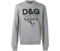 Meliertes 'Sartoria' Sweatshirt