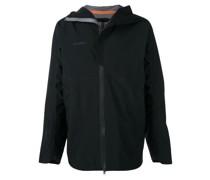 Hardshell-Jacke mit Kapuze