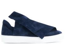 foldover slip-on sneakers