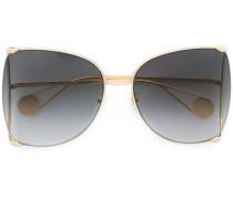 Sonnenbrille mit Perlen