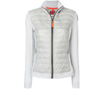 padded body fitted jacket