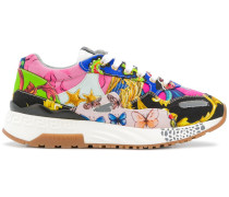 'Achilles' Sneakers mit Print