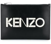 front logo clutch bag