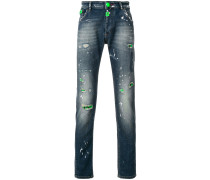 Fluo Python jeans