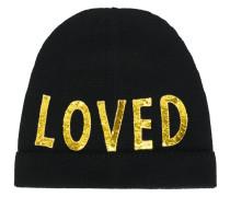 """Mütze mit """"Loved""""-Stickerei"""