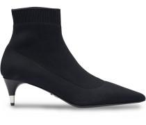 Sock-Boots mit spitzer Kappe