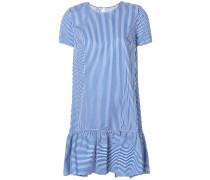 Gestreiftes Kleid mit lockerem Schnitt