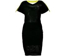 Kleid mit Logo-Streifen