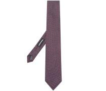 Krawatte mit gewebtem Muster