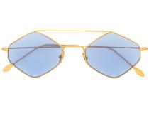 Sonnenbrille mit sechseckigem Gestell