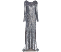 Wednesday sequin embellished gown