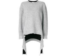 Pullover mit asymmetrischem Schnitt