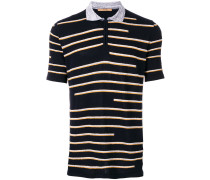 striped patterned polo shirt