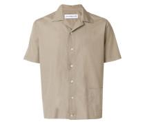 Kurzärmeliges Hemd mit Vordertasche