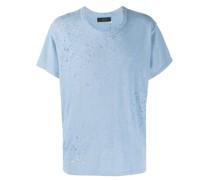 T-Shirt in Distressed-Optik