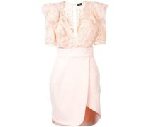 lace-detail mini dress