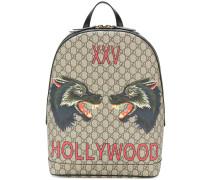 GG Supreme Hollywood print backpack