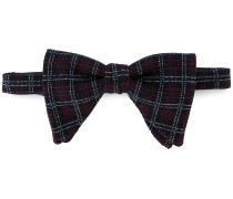 checked bow tie