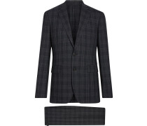 Soho Fit Check Wool Suit