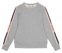 Sweatshirt mit -Streifen