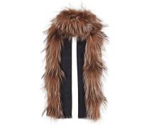 'Touch of Fur' Stola mit Fuchspelzbesatz