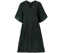 Milli texture flared dress