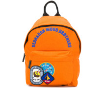 badge patch backpack