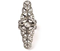Ring mit Diamanten aus 18kt Gold