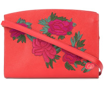 fire floral leisure shoulder bag