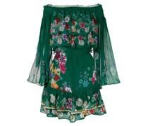 'Emeralds Orbit' Kleid