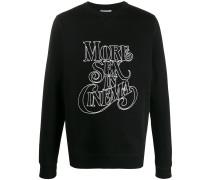 'Berg' Sweatshirt mit grafischem Print