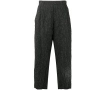 loose cropped trousers