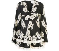 Calusa ruffle trim mini dress