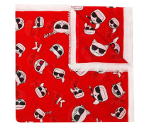Choupette printed scarf